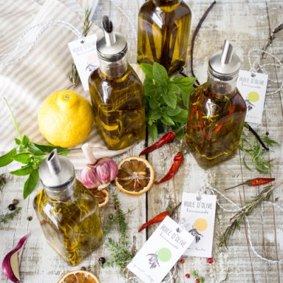 Huiles & sels parfumés