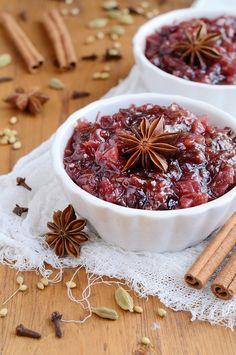 Chutney aux fruits secs…..