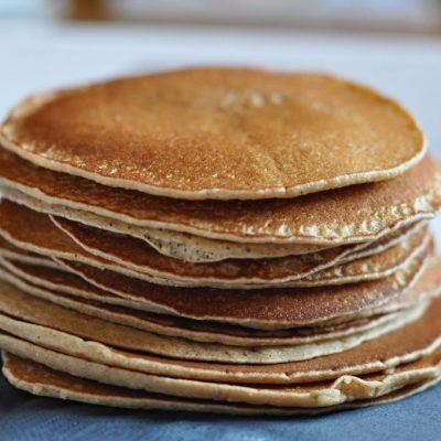 Pancakes sans gluten sans lactose…..