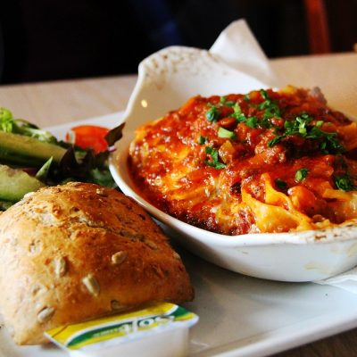 lasagnes light en moins de 30mn….Sans four